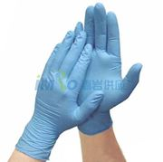 图片 MICRO-TOUCH NITRATEX一次性蓝色丁腈手套4474 Ansell/安塞尔