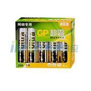 图片 超霸 电池,GP24AU-2IB20,7号-碱性-20粒/盒 单位:盒
