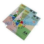 图片 传美 210G云彩纸,100张/包 A4 浅绿色 单位:包