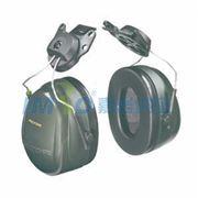 图片 3M 挂帽式耳罩,H7P3E,PELTOR OPTIME 101系列 黑色