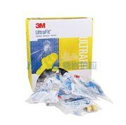 图片 3M 可重复使用耳塞,340-4002,Ultrafit 圣诞树型硅胶材质 带线 配外盒,50副/盒
