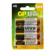 图片 超霸 碱性电池 ,GP15AU-2EL4 4节/卡 单位:卡