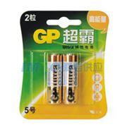 图片 超霸 5号电池,碱性 AA2节/卡 单位:卡