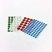 图片 12mm圆点标签,每张70个标签,蓝色,10张/包
