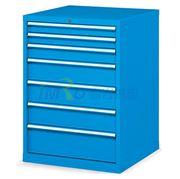 图片 发弥 固定式工具柜,(七个抽屉)100kg 蓝色,EHFA07