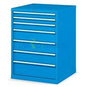 图片 发弥 固定式工具柜,(七个抽屉)200kg 蓝色,EHFA08