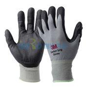 图片 3M 丁腈涂层手套,WX300921201,灰色 XL 防滑耐磨手套